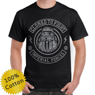 Cloned to Fight T Shirt