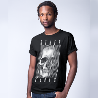 Other Faces Graphic Design T-shirt