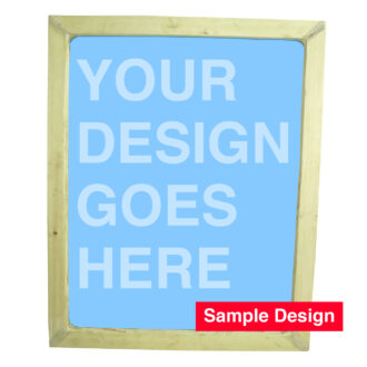 Extra Large Silk Screen Printing Wooden Frame with or without Design